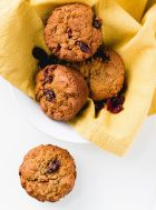Paleo Morning Glory Muffins {egg-free, nut-free}